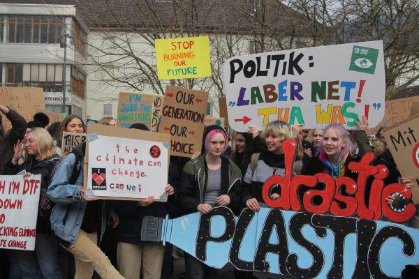 Am Freitag wird in Bregenz wieder für den Klimaschutz demonstriert.VoL.AT