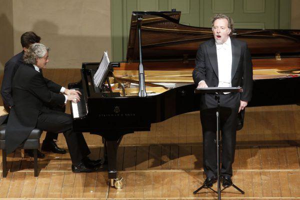 Bariton Christian Gerhaher und Pianist Gerold Huber beim Liederabend im Markus-Sittikus-Saal.Schubertiade (3)