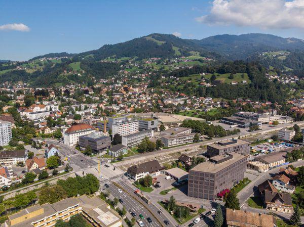 Im Großraum Dornbirn soll rund um die FHV und den Campus V ein Innovationszentrum entstehen.Klaus Hartinger
