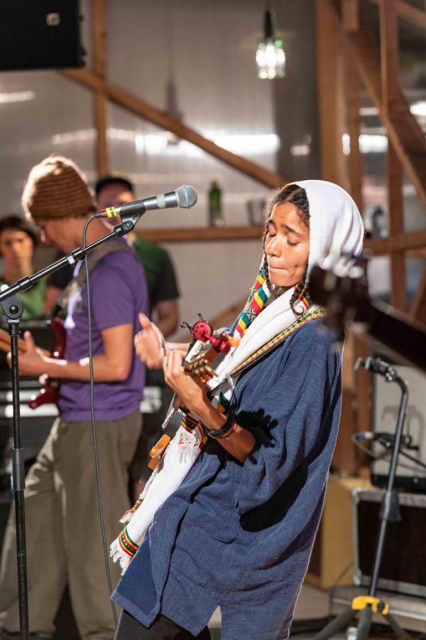 Die Nacht auf Sonntag gehörte der nigerianischen Soul-Sängerin Nneka.AK-Schaffarei