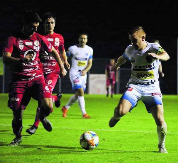 Dornbirn fehlten die Mittel, um den Regionalliga-Mitte-Tabellenführer zu bewingen.GEPA