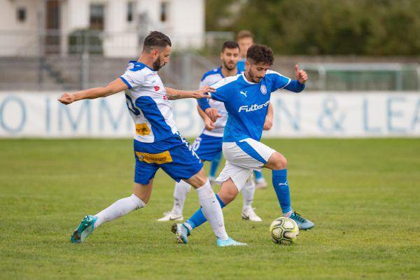 Feldkirch (in Weiß) durchbrach die Heimserie der Lustenauer im Cup. stiplovsek