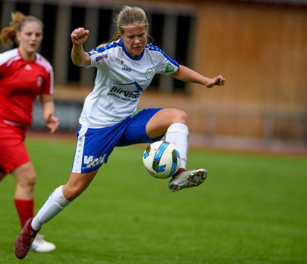 Der FFC fairvesta Vorderland hat sich als erster reiner Frauenfußballklub in Vorarlberg in der Bundesliga etabliert.Oliver Lerch
