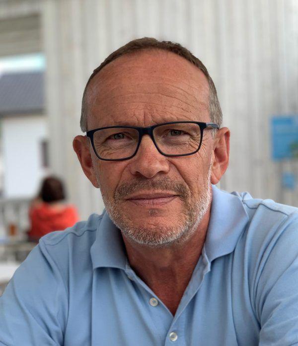 Franz Kopf ist Geschäftsführer des gleichnamigen Kieswerks am Alten Rhein in Altach. Kopf, NEUE