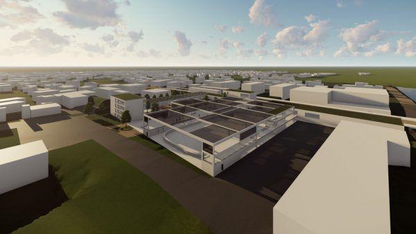 In Schoren soll ein Sport- und Jugendpark entstehen.Architektenbüro Hassler