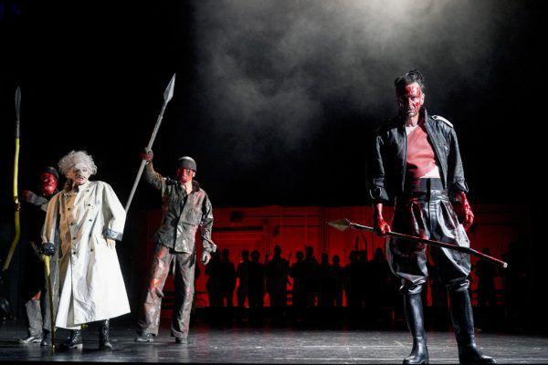 Jürgen Sarkiss als Coriolanus. Anja Köhler (3)