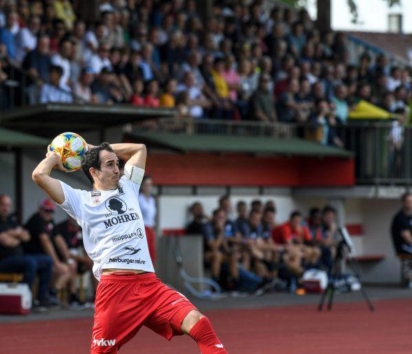 Kapitän Aaron Kircher will den großen Wurf in Wien.Gepa/Lerch
