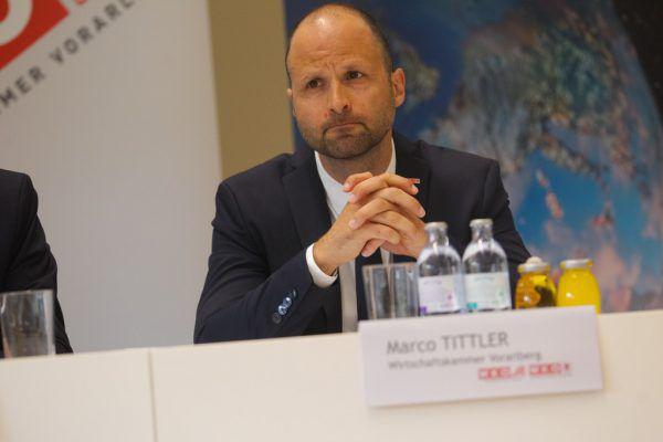 Leiter der Abteilung Wirtschaftspolitik (WKV) Marco Tittler könnte Rüdisser folgen.Stiplovsek, Hartinger