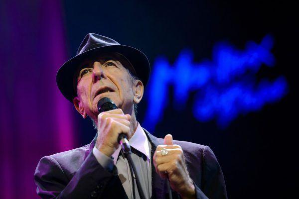 Leonard Cohen. APA/AFP