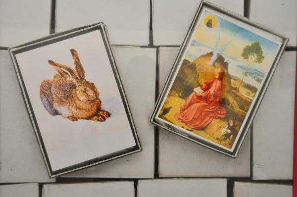 Links im großen Bild und im kleinen Bild oben die Schau in der Galerie Hollenstein, unten im Druckwerk Lustenau.Wolfgang ölz (3)