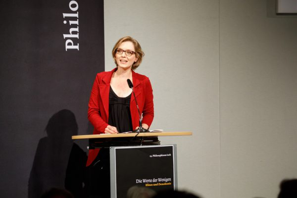 Lisa Herzog. Philosophicum Lech/Florian Lechner
