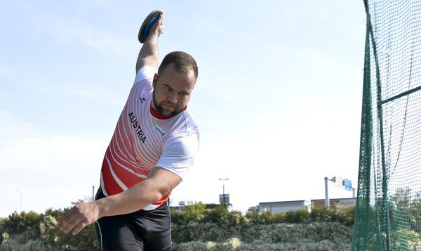 Lukas Weißhaidinger ist Österreichs einzige Medaillenhoffnung.Gepa