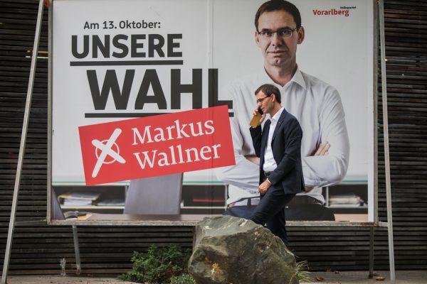 Nur angedeutet ist auf den ÖVPPlakaten für die Landtagswahl die Verbindung zu Türkis.Philipp Steurer