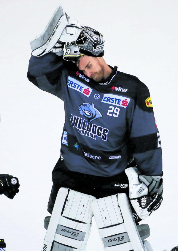 An Rasmus Rinne lag es nicht, dass die Dornbirner am Sonntag ihre siebte Saisonniederlage kassierten.GEPA