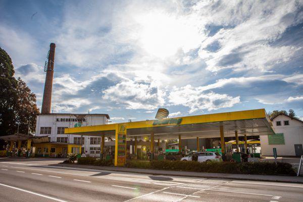 Eine Tankstelle an der Grenze war im vergangenen Jahr wenig lukrativ.Hartinger