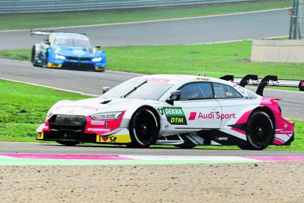 Beim ersten Rennen am Hockenheimring triumphierte René Rast gestern ein weiteres Mal. Heute (ab 13.30 Uhr) folgt das letzte Rennen dieser DTM-Saison. gepa (2)