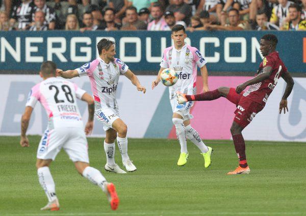 Bereits am ersten Spieltag kam es zum Duell zwischen Altach und LASK. Zu Hause behielten die Linzer mit 2:0 die Oberhand.GEPA