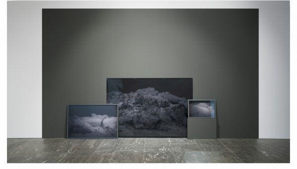 Blick in die Ausstellung in Innsbruck. Melanie Manchot