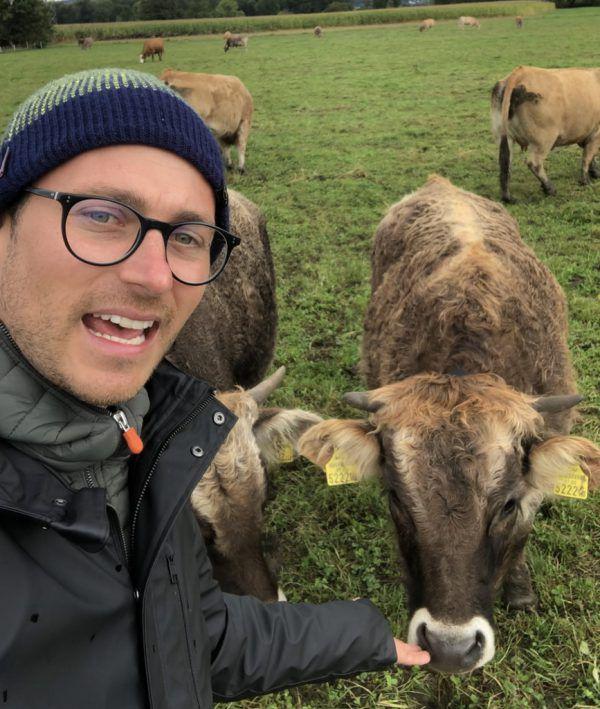 Daniel Zadra übt Kritik an Tiertransporten.Grüne, FPÖ