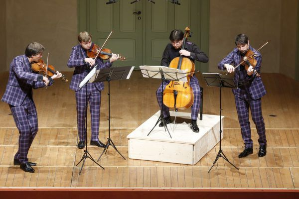 Das Apollon Musagète Quartett.  Schubertiade