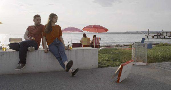 Das Bregenzer Seeufer ist Schauplatz des ersten veröffentlichten Filmspots.Christoph Skofic/Multimedia-Agentur