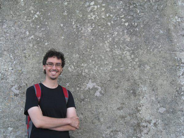 Der Bludenzer Autor Mathias Müller.Veranstalter