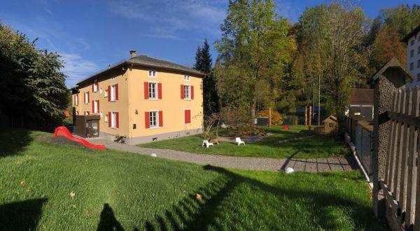 Der Zwergengarten im Steinebach.F.M. Hämmerle Holding AG