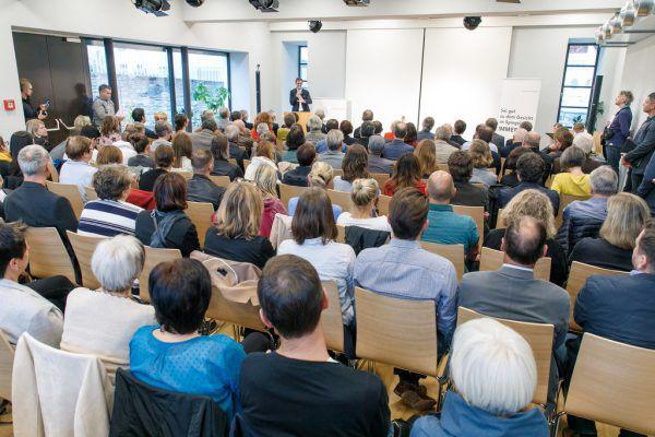 Die offizielle Eröffnung erfolgte gestern mit einer kleinen Feier.VLK/Hofmeister