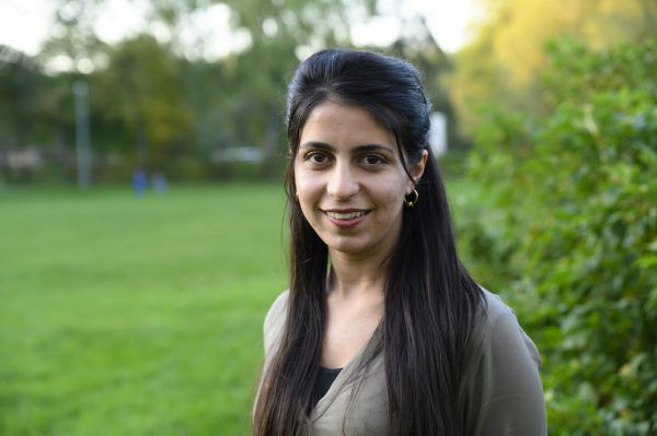 Die syrische Kurdin Vînda Melul wünscht sich einen eigenen Staat für Kurden.Ongaretto-Furxer