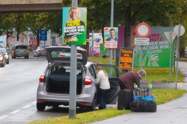 Es ist unübersehbar Wahlzeit: Am kommenden Sonntag wird der Vorarlberger Landtag neu gewählt.Klaus Hartinger (5)