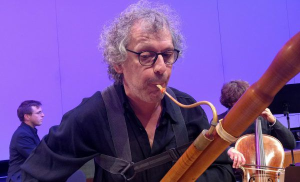 Fagottist Sergio Azzolini im Konzert. Concerto Stella Matutina