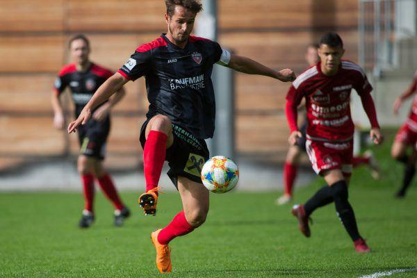FC-Bizau-Kapitän Manuel Palkovich führte sein Team an die Tabellenspitze.Philipp Steurer