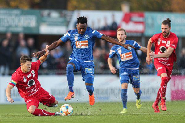 FC Dornbirn remisierte bereits zum fünften Mal in dieser Spielzeit.gepa