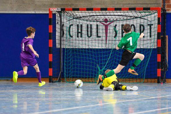 Im April fand das Futsal-Bundesfinale in Bregenz statt.Oliver Lerch