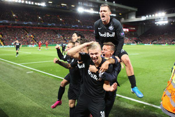 Im Trubel des Spektakels ging fast unter, dass Salzburg das Spiel in Liverpool ja doch noch verloren hat.GEPA