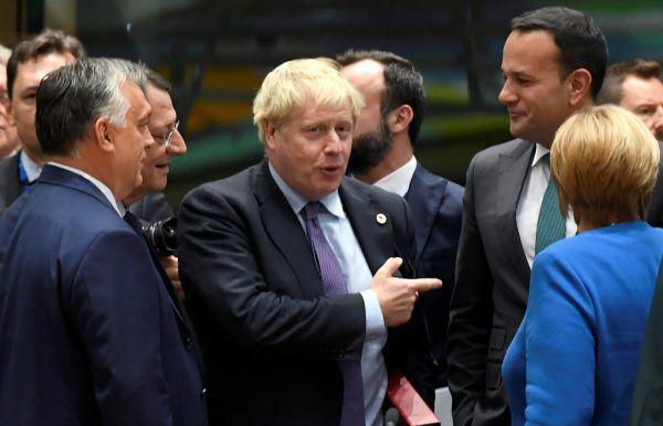 In Brüssel erfolgreich, aber auch daheim in London? Boris Johnson am Donnerstag nach dem EU-Gipfel.REUTERS