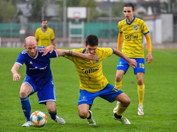 In Hohenems wurde intensiv um jeden Ball gekämpft.Oliver Lerch