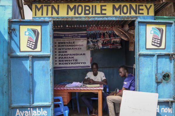 In Kiosken wie diesem werden die Interessenten beraten.