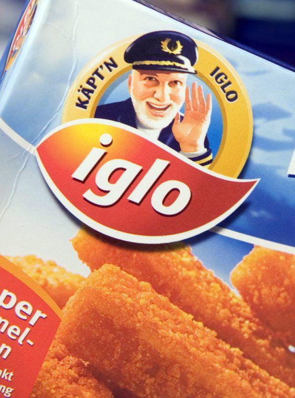 """""""Käpt'n Iglo"""" macht seit 30 Jahren Werbung für Fischstäbchen.AP"""