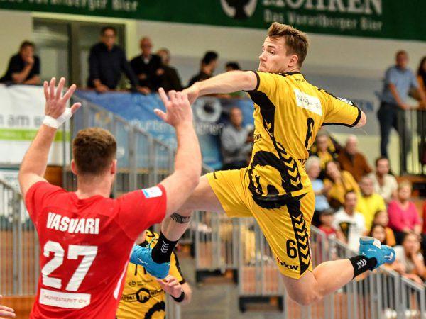 Kapitän Lukas Frühstück ging voran und führte sein Team mit sechs Treffern zum Sieg.Gepa/Lerch