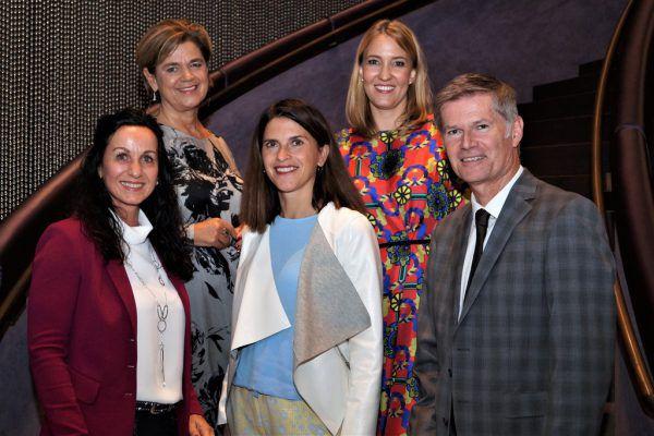 Karin Thurnher-Furtner, Bettina Glatz-Kremser, Maria Zesch, Evelyn Dorn und Bernhard Moosbrugger (v.l.).ritter (4)