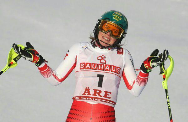 Katharina Liensberger muss sich entscheiden.APA