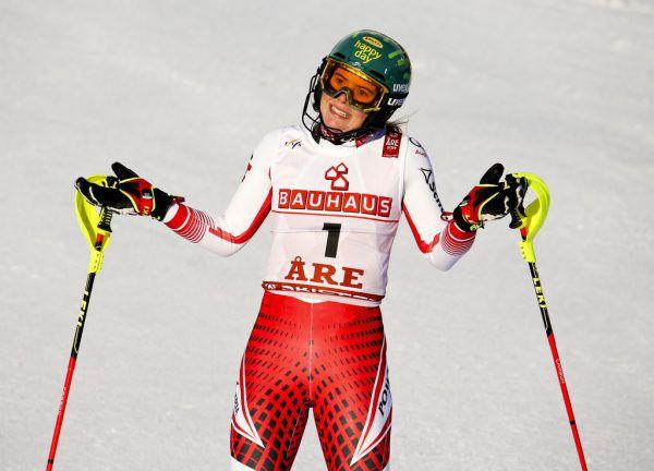 Katharina Liensbergers nächster Rennstart ist höchst ungewiss.Gepa