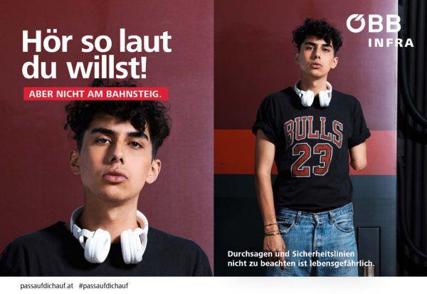 Mit der Kampagne soll an die Eigenverantwortung der Jugendlichen appelliert werden. ÖBB