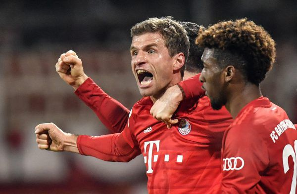 Müller war der Matchwinner.AP