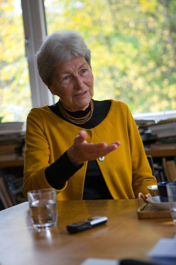 Obfrau Hildegard Breiner.Hartinger/archiv