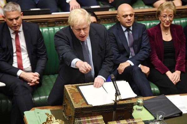Premier Boris Johnson. REUTERS