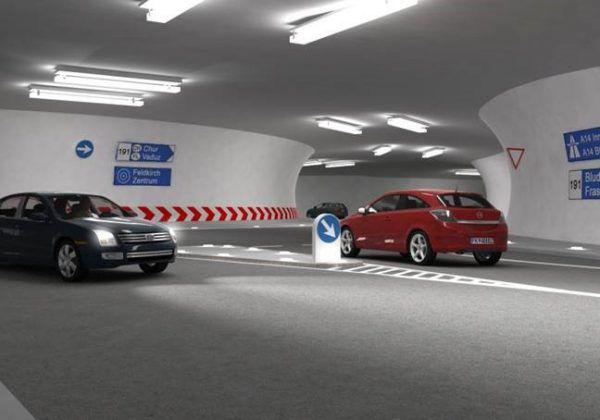 Der Stadttunnel besteht aus einem unterirdischen Kreisverkehr und vier Tunnelästen. Der erste Abschnitt soll 2025/26 fertig sein. LAND