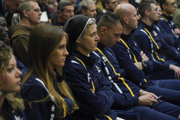 Rund 60 Mitglieder hat der erste vatikanische Sportverein.AP/Andrew Medichini