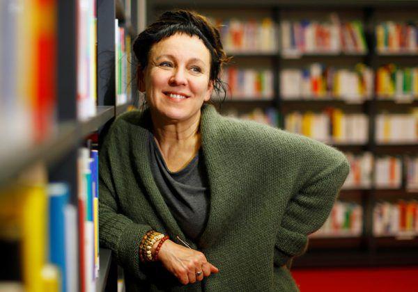 Sie erhält nachträglich den Literaturnobelpreis 2018: Olga Tokarczuk.Reuters